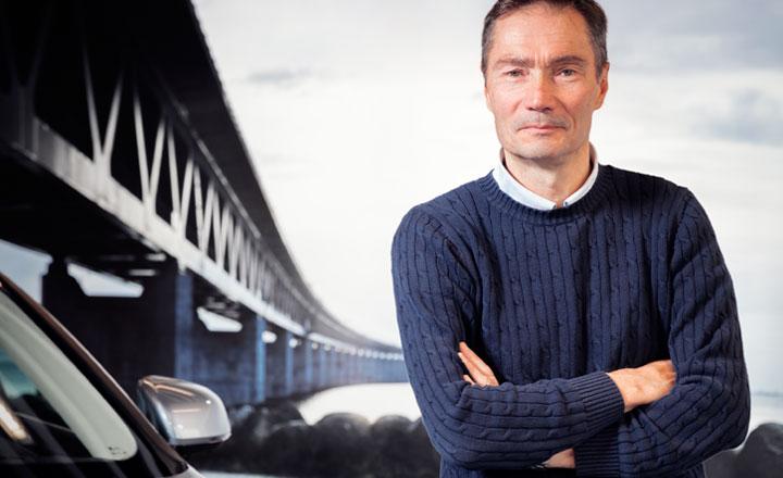 Robert Hansson, Volvo Car Corporation, Vehicle Dynamics & Active Safety -yksikön johtaja