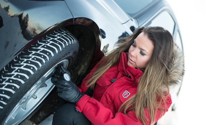 Проверка на налягането в гумите
