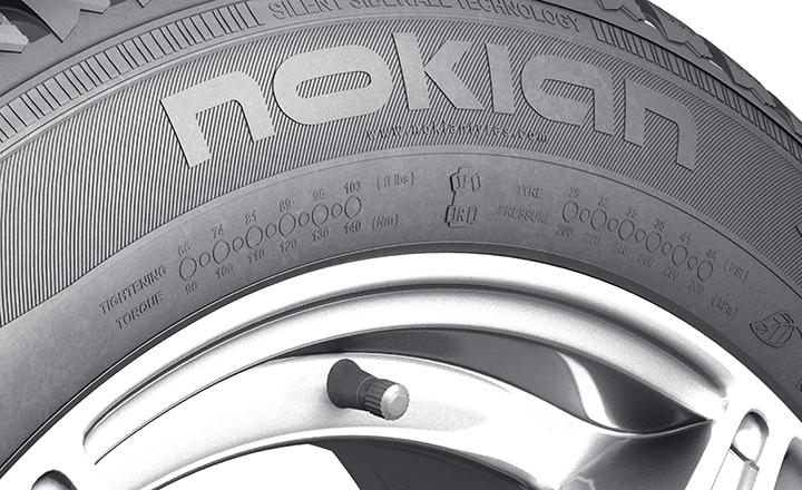 Nokian WR D4. Pole informacyjne.