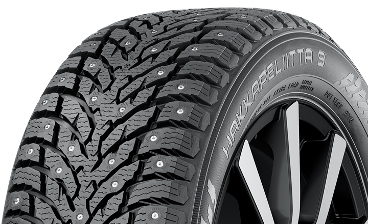 The Nokian Hakkapeliitta 9 introduces new stud technology