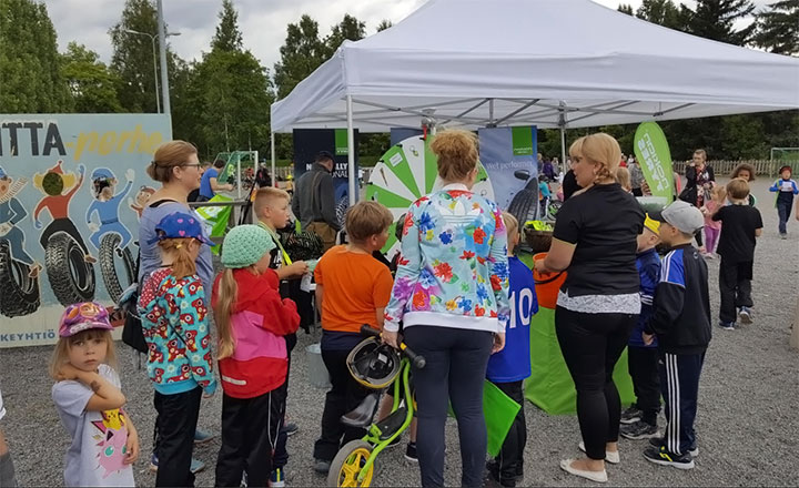 Small initiatives bring lots of joy to local communities