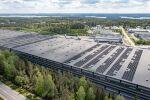 Nokialle nousi Pirkanmaan suurin katolle asennettu aurinkovoimala