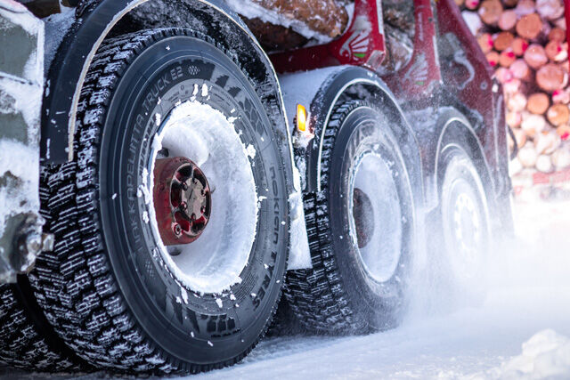 The best can be improved – the new Nokian Hakkapeliitta Truck E2 tire and Noktop Hakkapeliitta E2 retread raise winter grip, comfort and safety to a new level