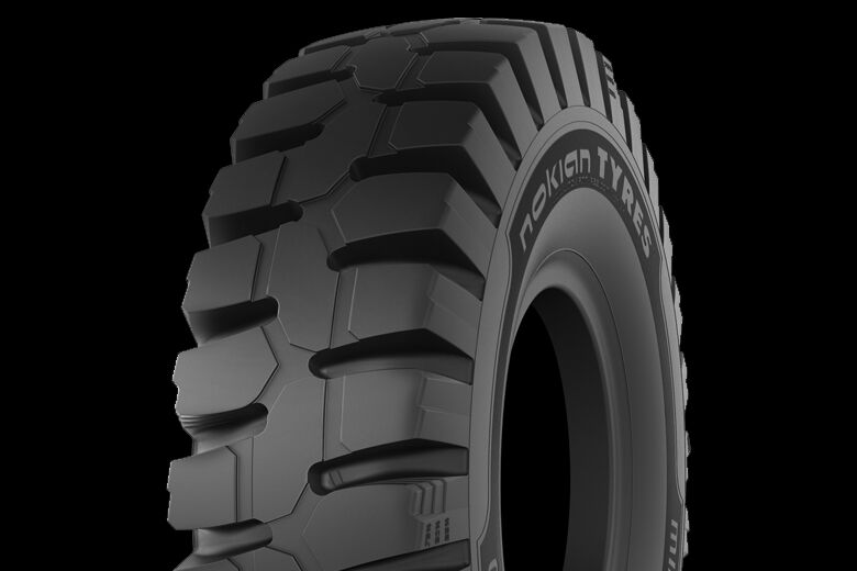Two new sizes of the Nokian Mine King E-4 mining tire enable its use on a wider range of drill rigs and utility vehicles