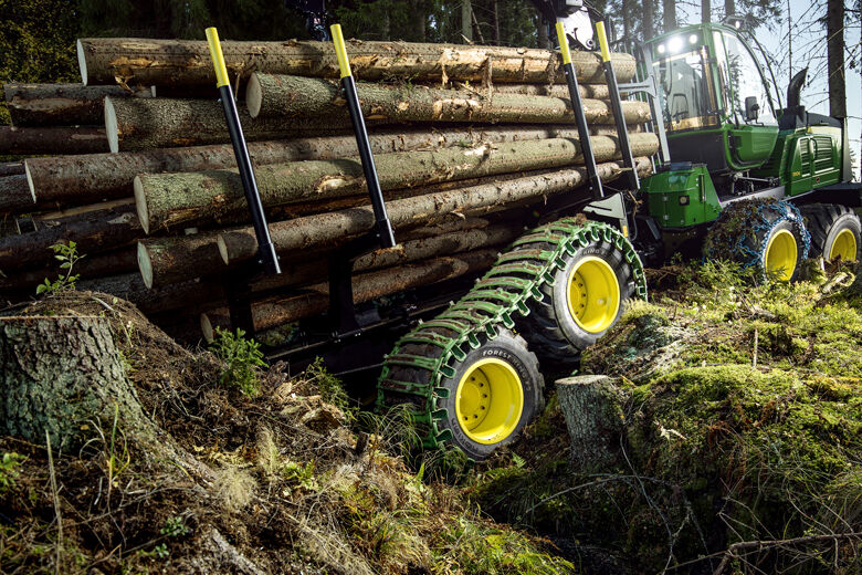New demands, new generation of tires – Nokian Forest King TRS 2+ offers advanced features for six-wheel forestry machines, while new sizes extend the possibilities of Nokian Forest King F2 and Nokian Forest King TRS 2