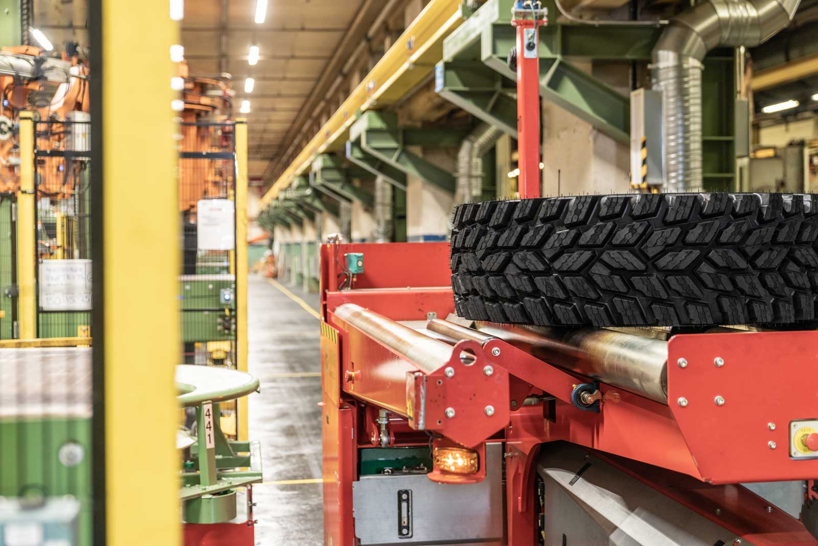 Nokian Heavy Tyres factory