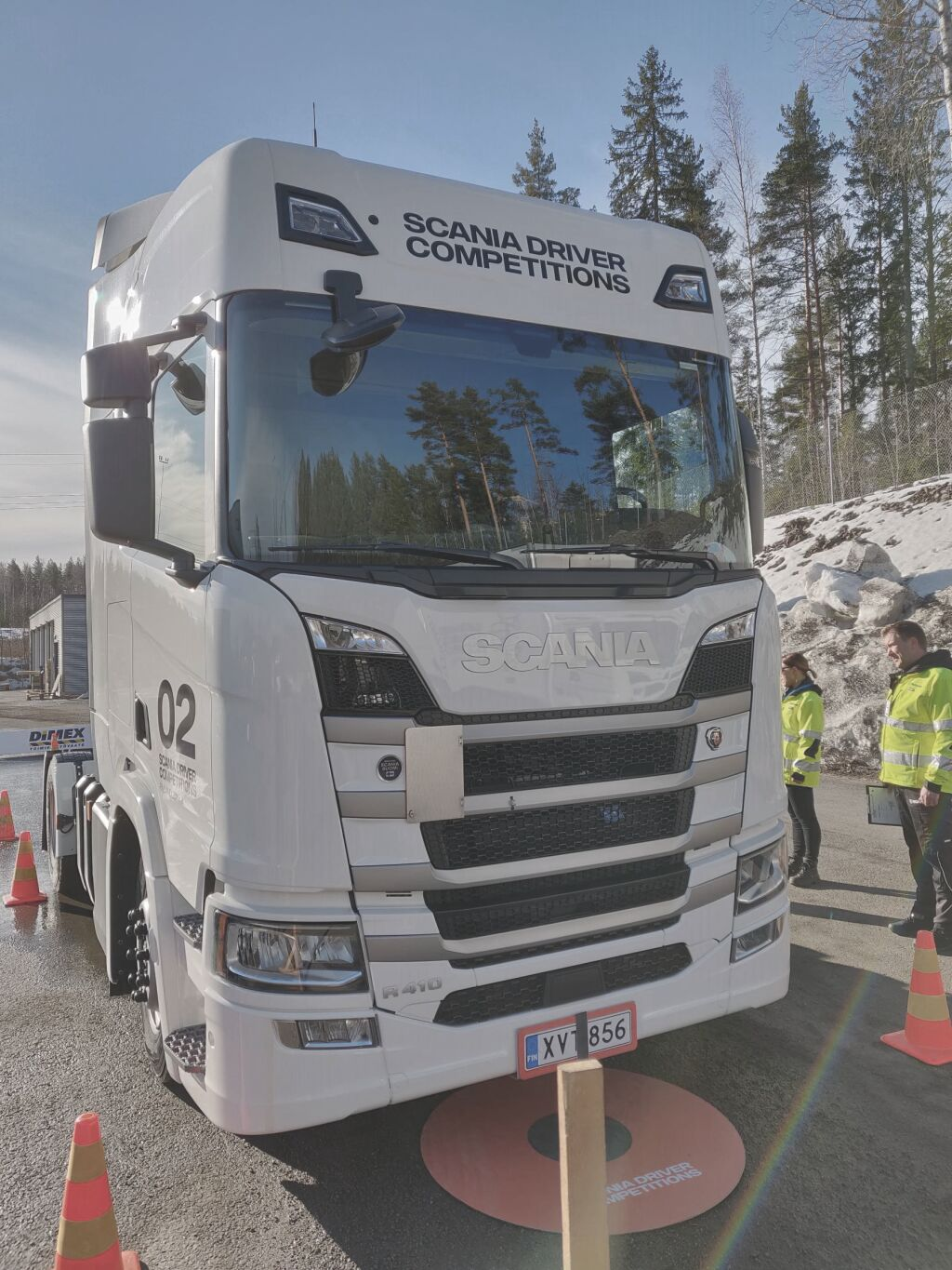 It's all about the driver – Nokian Tyres supports Scania Driver Competitions
