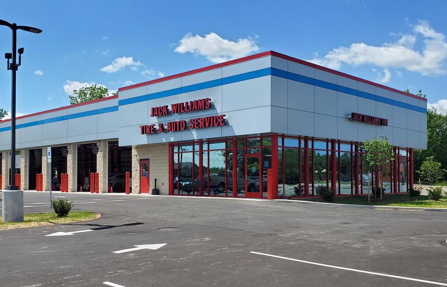 Jack Williams Tire has 39 shop and 11 warehouses in Pennsylvania