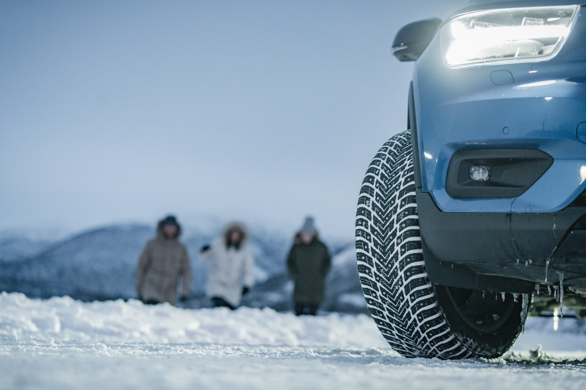 The Nokian Hakkapeliitta 10 delivers a 10/10 driving experience in extreme winter conditions