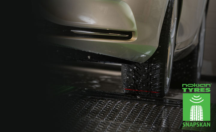 New SnapSkan tyre scanning service