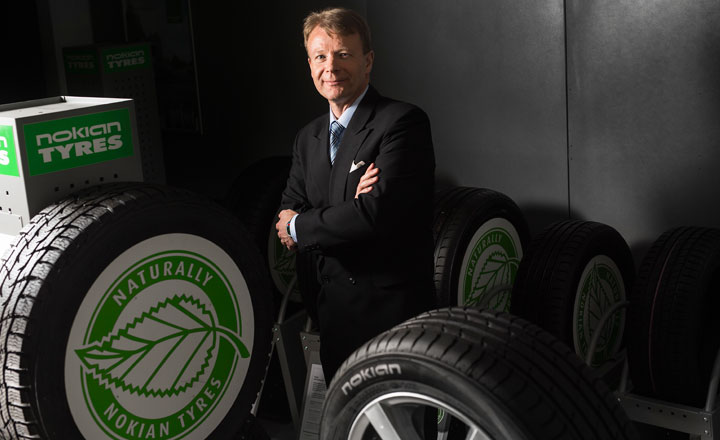 Juha Pirhonen, Vice President, Research and Development at Nokian Tyres