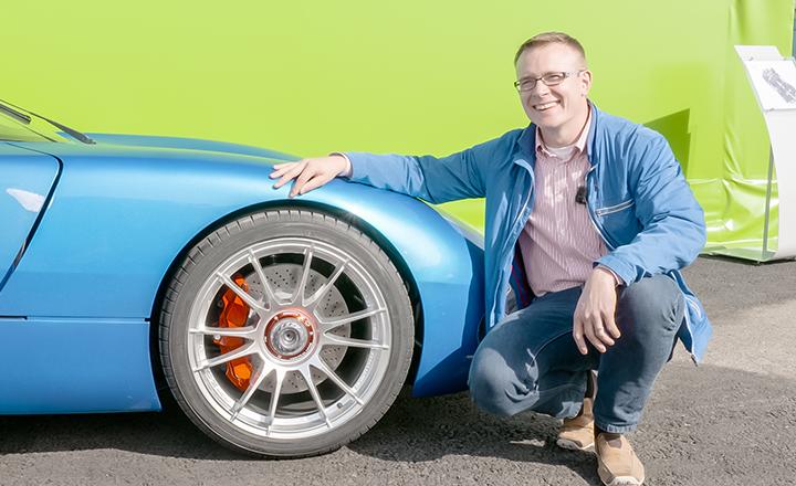 Jarno Röytiö, utviklingssjef i Nokian Tyres
