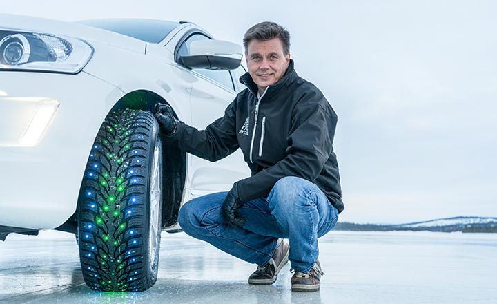 Nokian Renkaiden kehityspäällikkö Mikko Liukkula