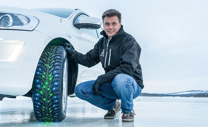 Nokian Tyres Development Manager Mikko Liukkula