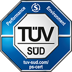 Tested by TÜV