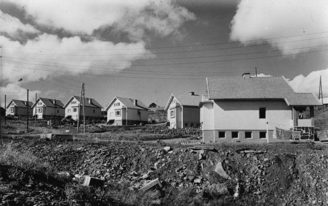 Жилой район в Лаутала, 1952 г.
