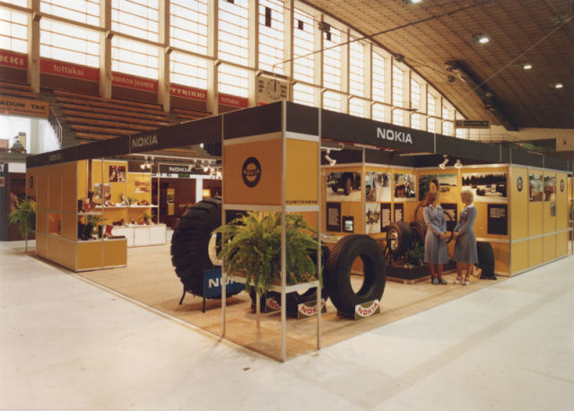 Hakkapeliittas on display at the Tampere Fair in 1978.