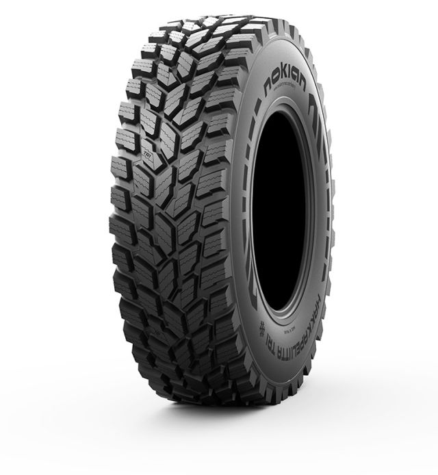 The Nokian Hakkapeliitta TRI is the world's first winter contracting tyre for tractors, and it also holds the world speed record for tractors: 130.165 km/h.