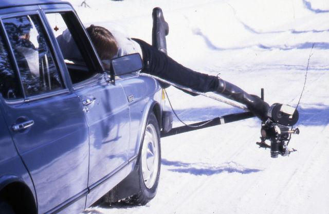 Суровые погодные условия в Ивало вынуждают водителей-испытателей работать на пределе своих возможностей.