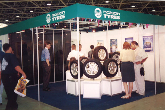 Conquering Russia. The first appearance at the Moscow International Motor Show took place in 1996.