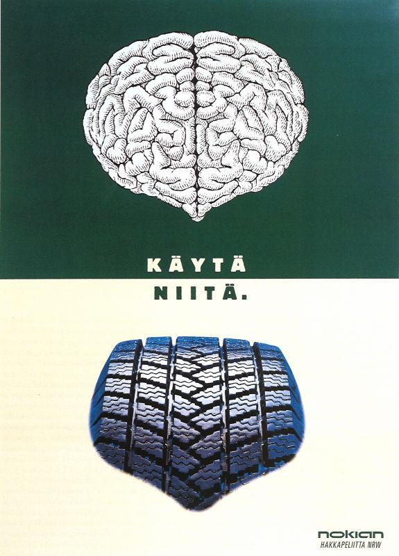 Постер шины Hakkapeliitta 1, 1998 г.