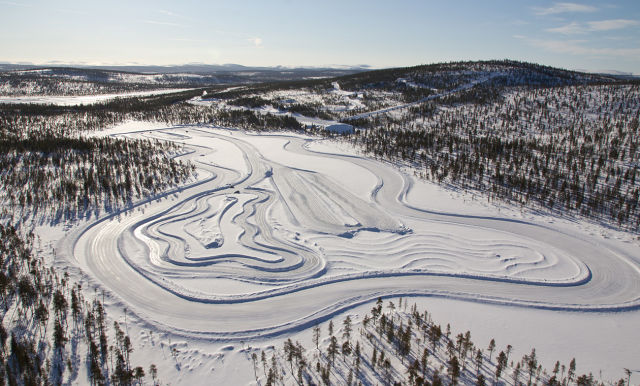 Ivalo Testing Center White Hell. Home of the winter tires.
