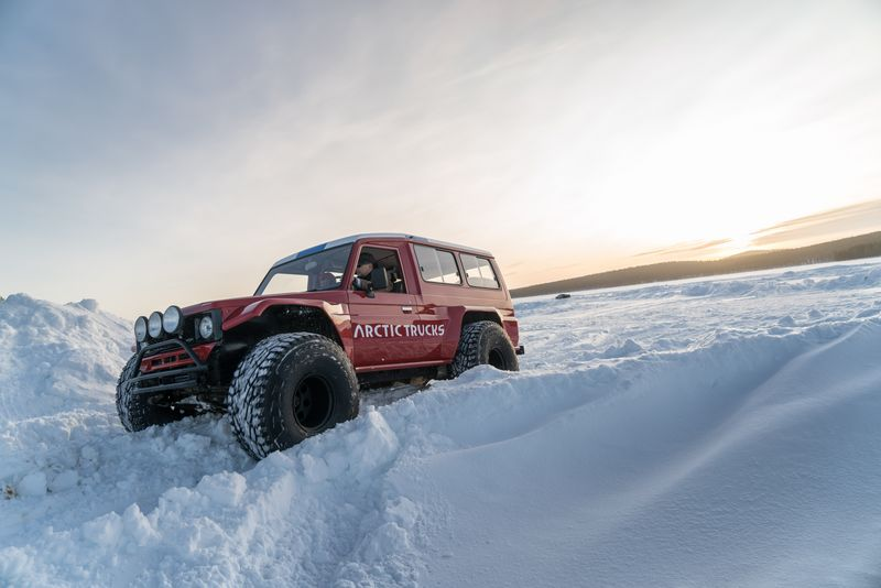 White Hell is heaven for drivers, but brutal on tires