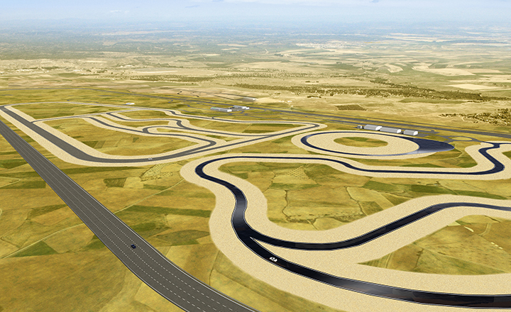 The centre will include an over 7-kilometre oval track that encircles the area. The track with banked curves enables us to test our summer and winter tires with high speed ratings at speeds of up to 300 km/h (186 mph).