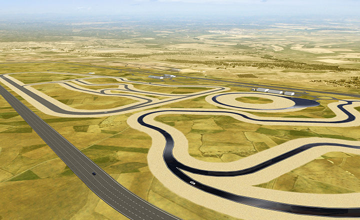 The centre will include an over 7-kilometre oval track that encircles the area. The track with banked curves enables us to test our summer and winter tyres with high speed ratings at speeds of up to 300 km/h (186 mph).