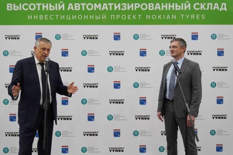 Автоматизированный склад шин - губернатор ЛО