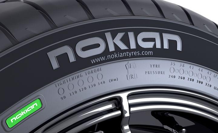 Pole informacyjne Nokian Tyres