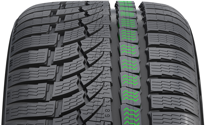 Centipede Siping (Nokian WR G4)