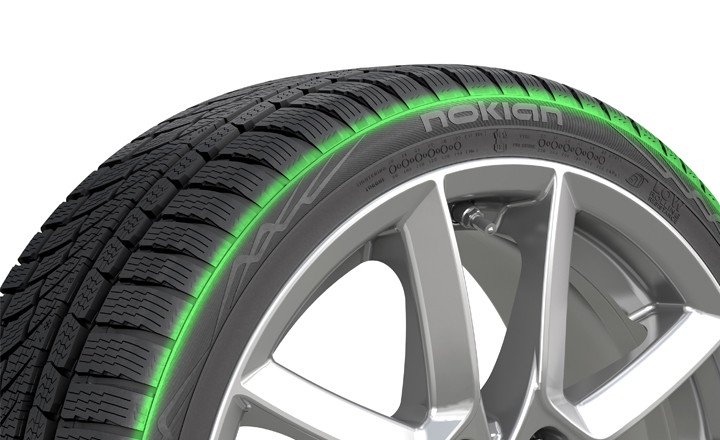 Silent Sidewall Technology (Nokian WR G4 and Nokian WR G4 SUV)