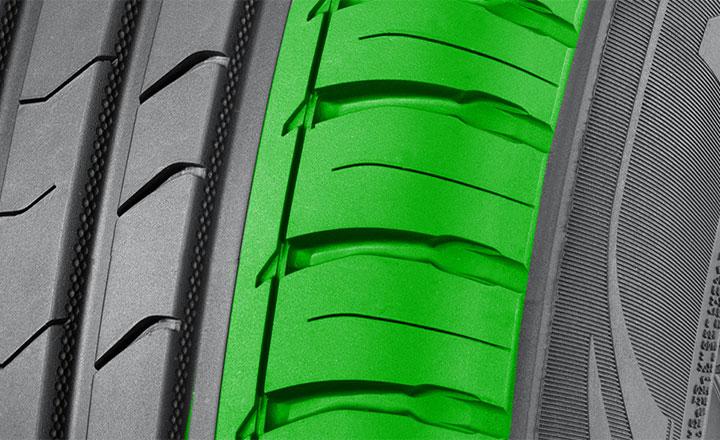Вентурные канавки (Nokian Nordman SX2)