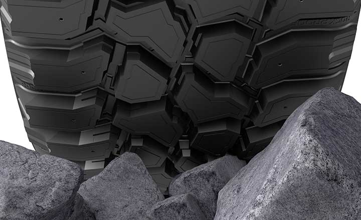 Nokian Rockproof Hybrid rubber compound