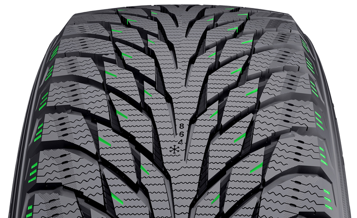 205 55R16 Winter Tires >> Sipe activators / Nokian Tires
