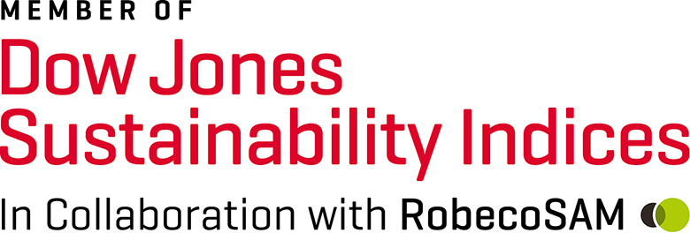 Nokian Tyres was again included in Dow Jones' DJSI World sustainability index and also selected for the DJSI Europe index