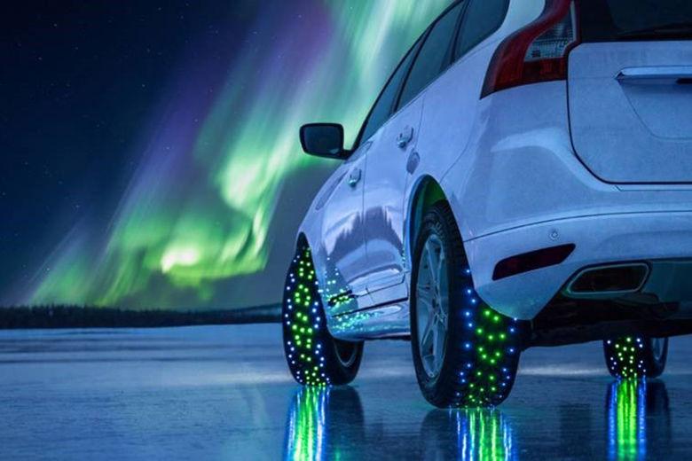 Framtidens smarta däck anpassar sig efter väglaget
