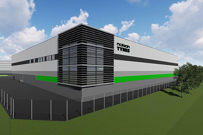 Den globale etterspørselen øker – Nokian Tyres' nye forsknings- og utviklingssenter tar produktutvikling til et nytt nivå