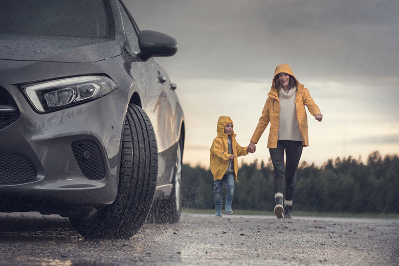 Peace of mind for rainy days: New Nokian Wetproof is the enemy of aquaplaning