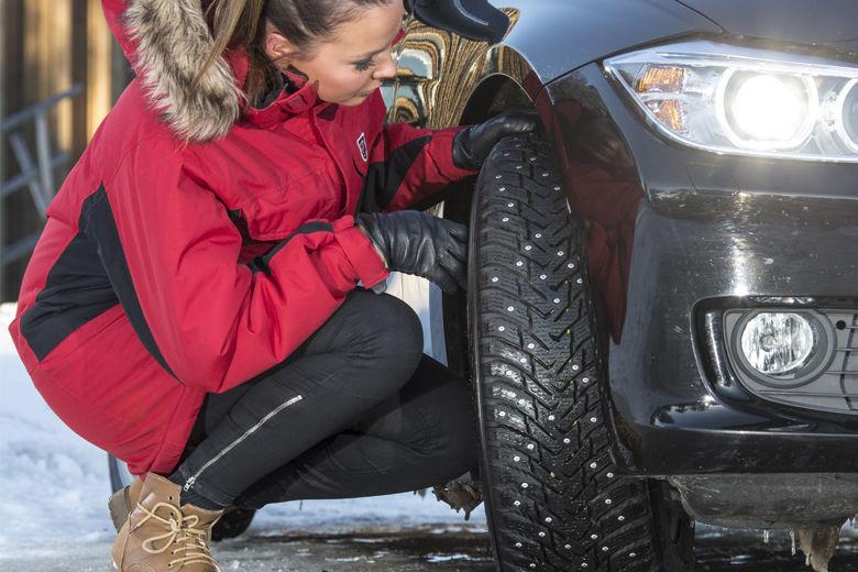 Att enbart kolla mönsterdjupet garanterar inte att dina vinterdäck är säkra