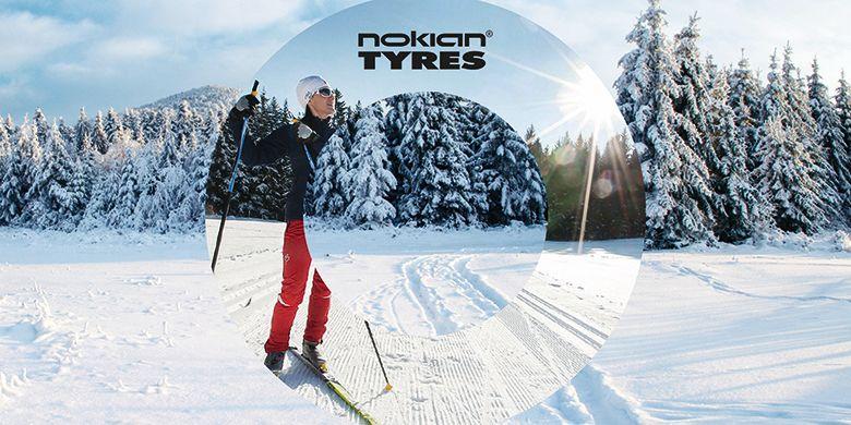 Nokian Tyres поддерживает ХХI Токсовский лыжный марафон