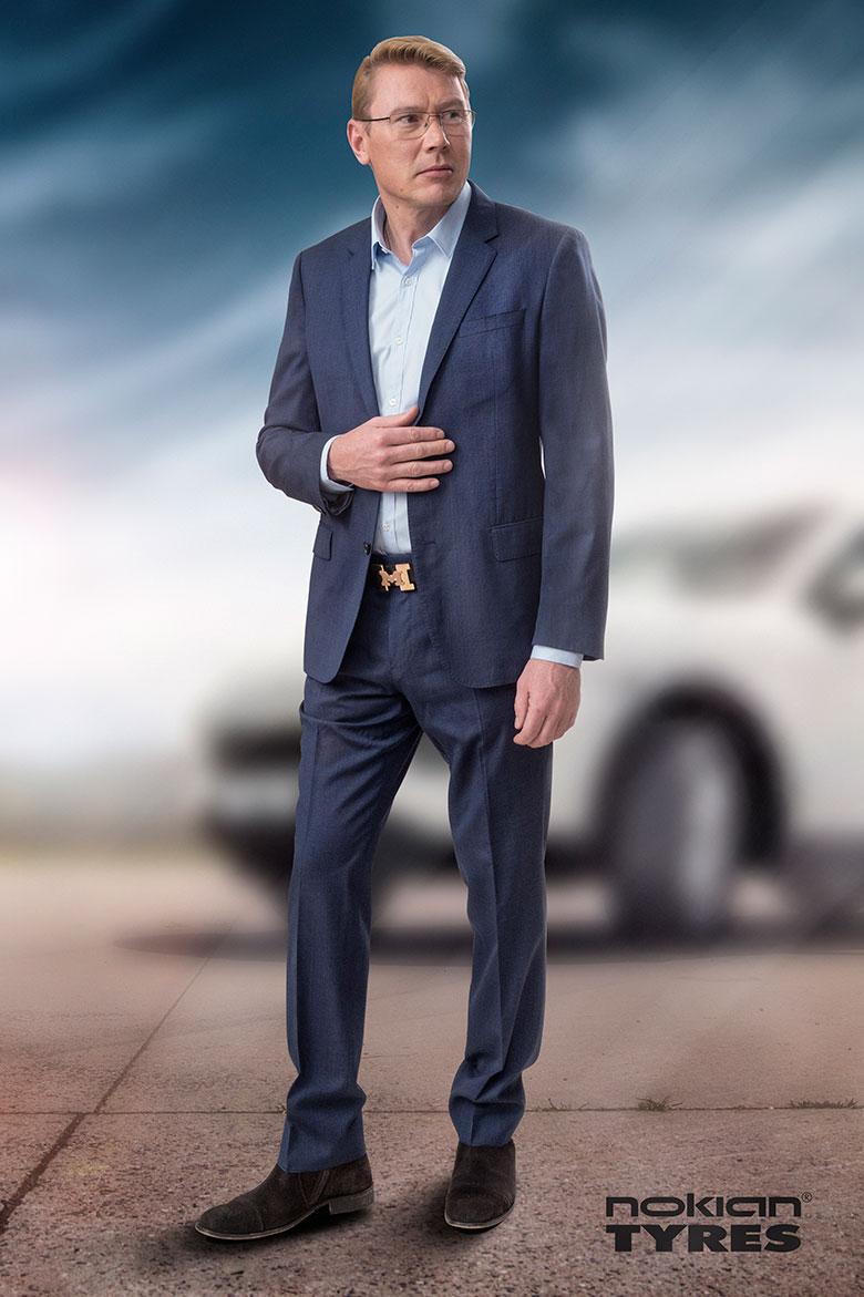 Nokian Tyres startet Zusammenarbeit mit Formel 1 Weltmeister Mika Häkkinen