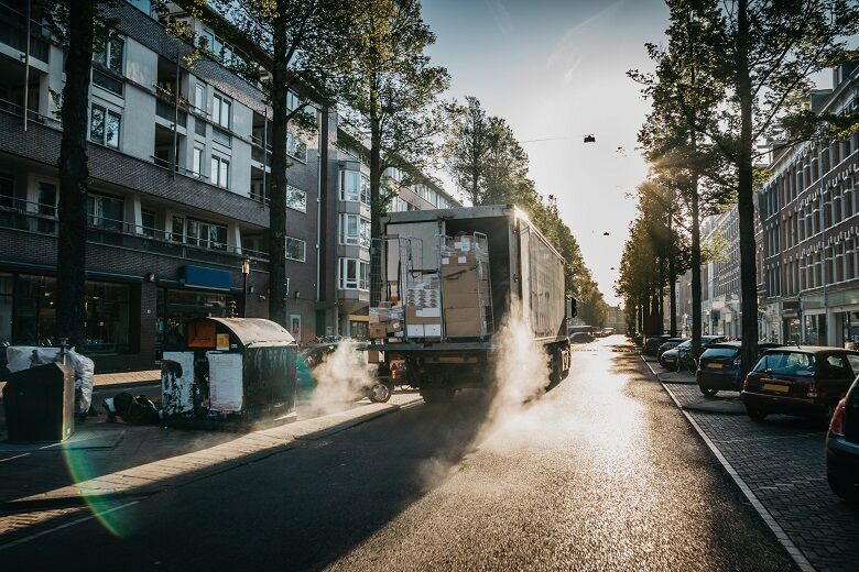 Tires made for regional and urban transports – the new Nokian E-Truck 17.5 tire range takes over the city streets