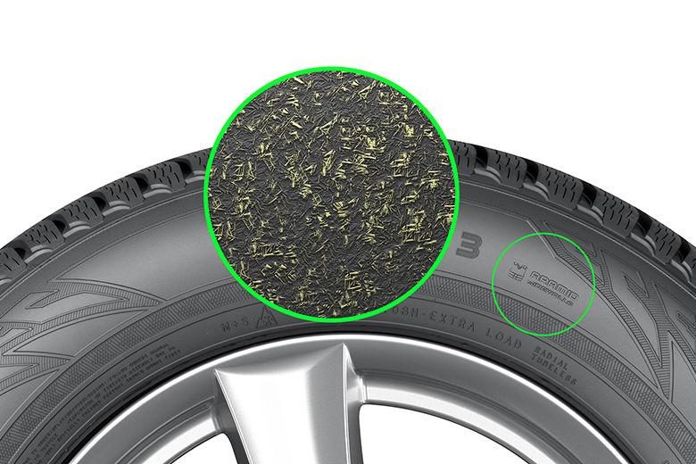 Nokian Tyres accroît l'utilisation de sa technologie du flanc avec aramide