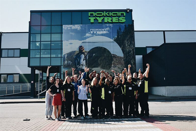 Nokian Tyres Dayton Factory Team on Overseas Training in Russia and Finland