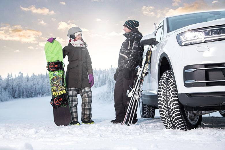 Nokian Tyres lanserar unik ny produkt: Världens första dubbdäck med dubbla dubbar ger extremt vintergrepp