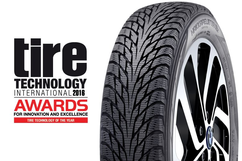 "Nokian Hakkapeliitta R2 Winterreifen für Elektroautos gewinnt ""Tire Technology of the Year"" Award 2016"