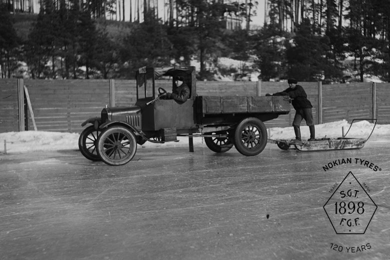 Nokian Tyres' 120th anniversary – From winter tyre inventor to world-class business