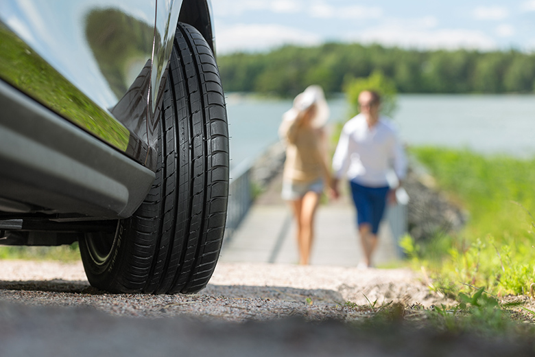 Safe and reliable summer driving: Nokian Tyres' unique Aramid Sidewall Technology helps you enjoy the summer season to the fullest